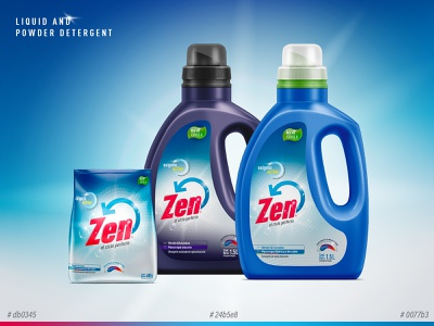 Profesional cleaning detergent background photoshop colorpalette mockup packaging design detergent branding brand identity design