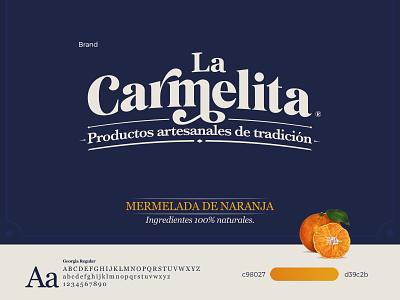 Jam Branding logodesign deepblue illustrator orange jam typography logo brand identity colorpalette branding design