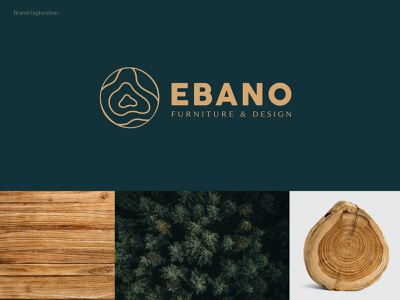 Ebano - Furniture Design brand design furniture wood color typography logo brand identity colorpalette branding design