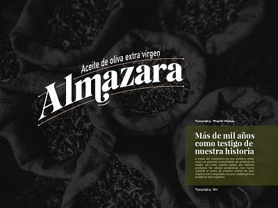 Almazara - Brand identity photoshop vector icon color typography logo brand identity colorpalette branding design