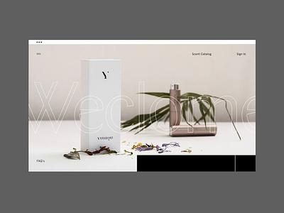 YUNIQU — Animation Concept 001 interactive design scroll motion design motion portfolio animation web ui design