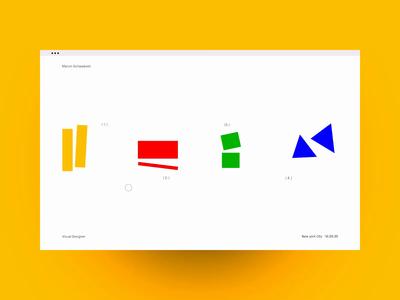 Abstract Menu - Hover State website ux hover web ui motion design motion portfolio design interactive design animation