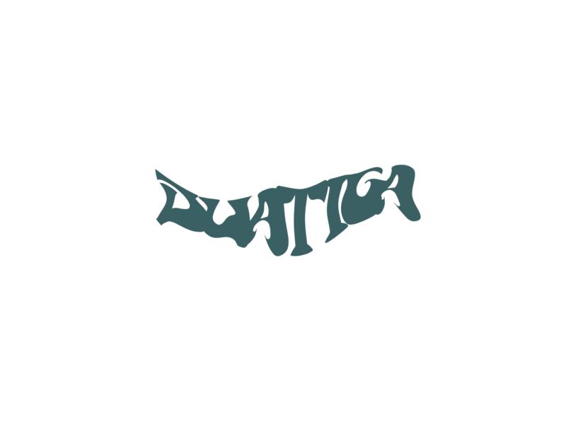 duatiga logo lettering logodesign logo design branding lettermark letter logo logotype