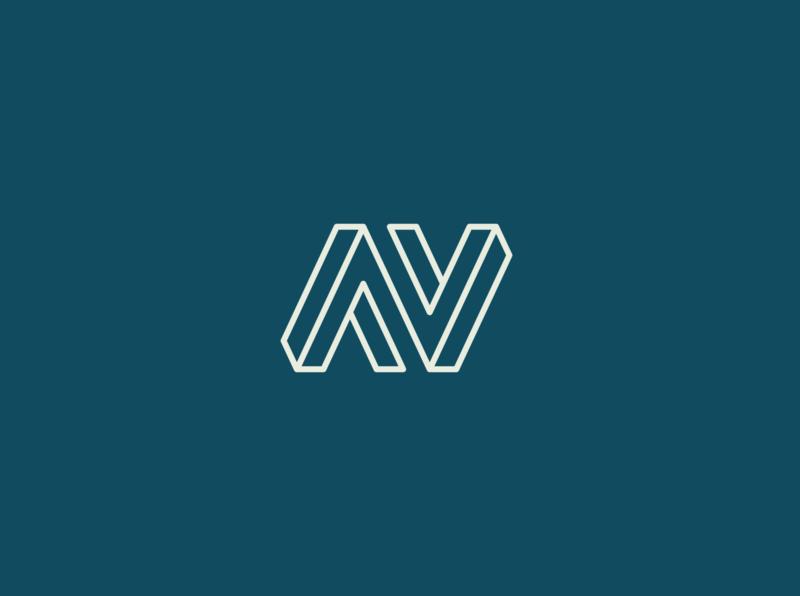 AV or N logo logo a day logo av logo branding logo designer logo brand logo mark logo design branding logo type logos logodesign logotype logo design logo