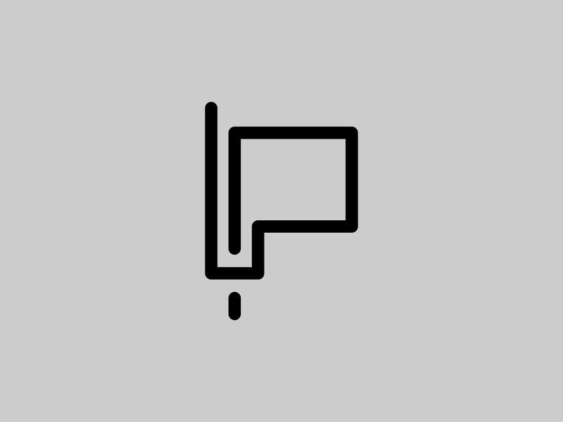 P logo maker logo brand mark logo branding logo brand logotype design logo alphabet logo text logo type logotypedesign logo