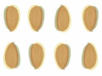 Almond Pop Art Pattern