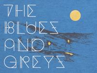 Blues and Greys Shirt