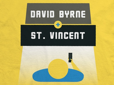 David Byrne & St. Vincent david byrne st. vincent annie clark talking heads music merch band shirt apparel tv