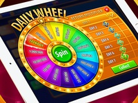 Daily wheel for casino game
