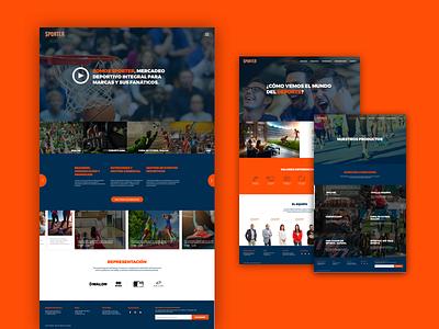 Sporter Website website sports