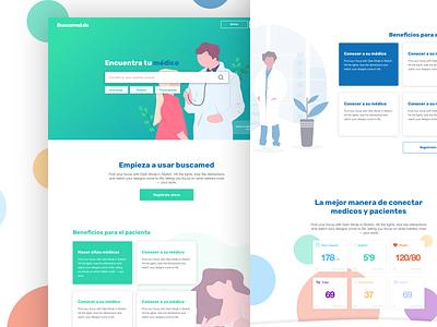 Medical Appointments app for Dominican Republic Market design website dominicanrepublic