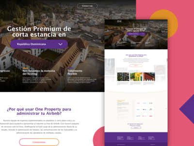One Property Landing Page