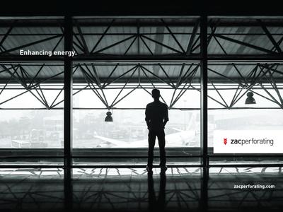 Zac Perforating branding logo explosives oil perforation red black white
