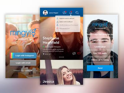 Mingyl — Dating App love instagram dating date app