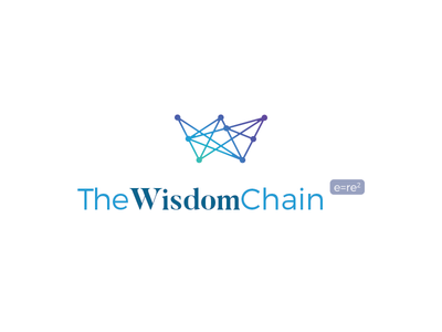 The Wisdom Chain online internet wifi connections blue logo