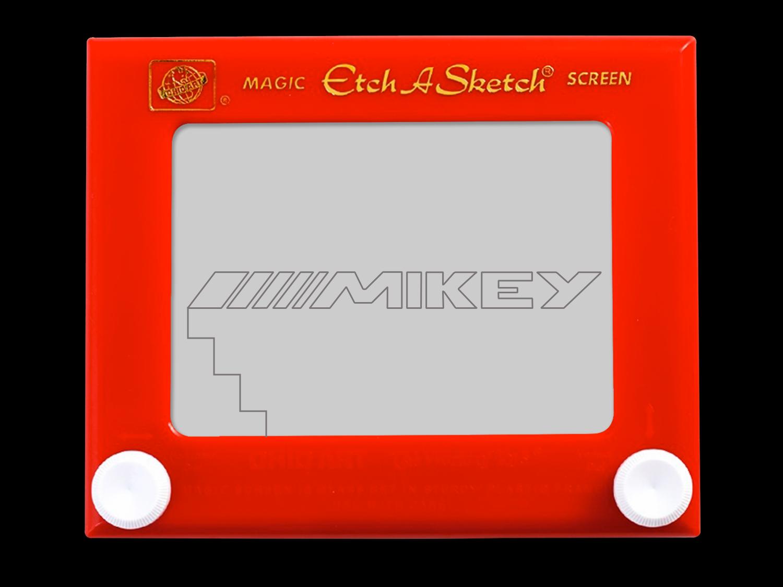 Mikey Etch A Sketch By Acid Lazer Dezignz Llc On Dribbble