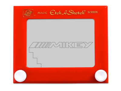 Mikey Etch A Sketch art drawings magnetic michaelspitz mikey gaming app classical doodle art etching doodle