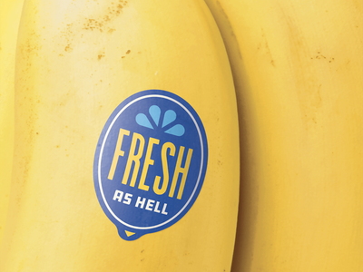 Big Fruit - 🍌 sticker fresh poster fruit sticker label banana fruit