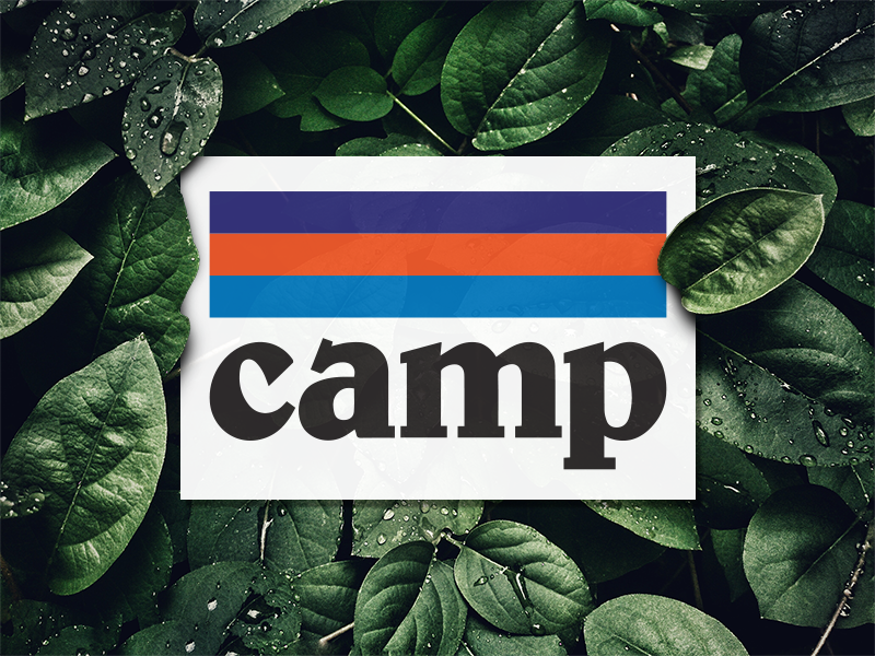 Get it?... outdoors nature leaves plants patagonia music sticker band camp