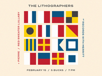 Show Poster - The Lithographers