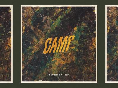 Camp - TwentyTen 2010 grit texture album art single camp emo music