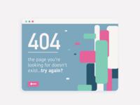 404 Error: Dribbble Rebound