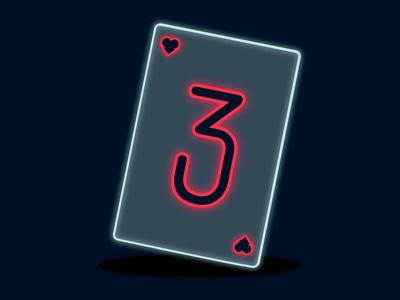 dribbble playing card