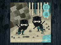 Ninja Project day #011 The Benefits of Teamwork