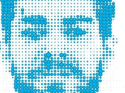 Self portrait detail processing programming spheres