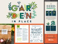 Garden In Place Initiative oklahoma oklahoma city botanical gardens event logo branding garden in place gardening pandemic covid-19 quarantine