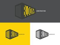 Bloom Construction Logo Concept