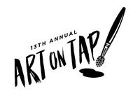 Art on Tap Logo Sketch