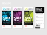Museum Film Ticket Concept