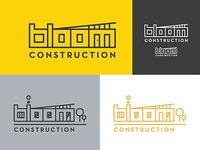 Bloom Construction Logo Concept 2