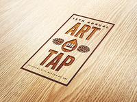 Art on Tap Engraved Logo