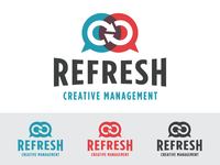 Refresh Creative Management Logo