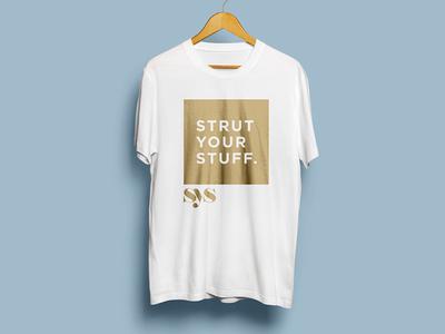 Strut Your Stuff apparel identity branding logo strut clothing line clothing fashion branding fashion