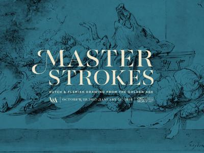 Master Strokes Logo