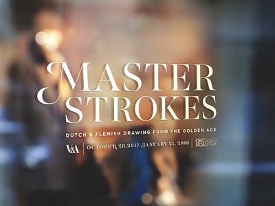 Master Strokes Vinyl Mock
