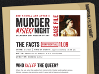 Murder Mystery Night (Case File)