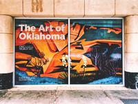 The Art of Oklahoma Selfie Station