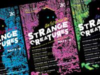Strange Creatures Poster