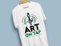 Art On Tap 2018 (Logo)