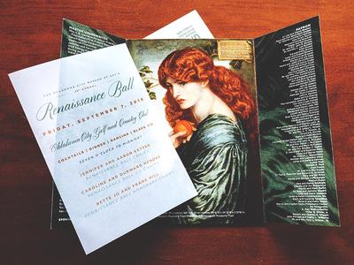 Renaissance Ball Invite (Interior)