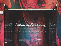 Isabelle de Borchgrave Title Wall
