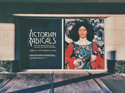 Victorian Radicals Window Display