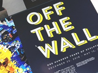 Off the Wall (Logo Treatment)