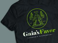 Gaia's Favor Cannabis Dispensary (Logo)