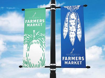 Farmers Market Banner Mock Up market farming oklahoma city organic food framers market logo