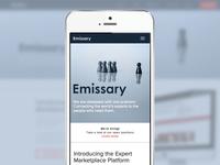 Emissary Website